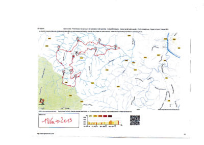 Parcours Chaptrail 2020 18km